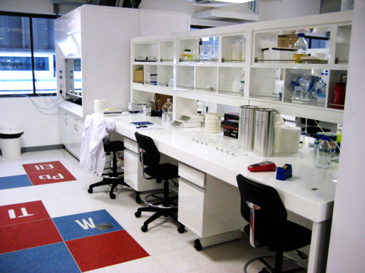 Lab benches